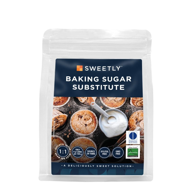 SWEETLY Baking Sugar Substitute 500 g Pouch